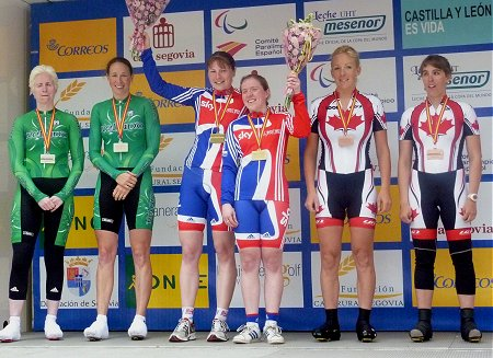 Two silver medals for Ireland at Paracycling Road World Cup