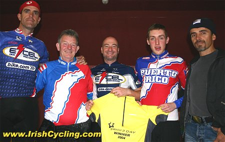 Race Organiser Sam D Arcy with members of the Puerto Rican team and Race  Winner Daniel Martin 93e46d4cb
