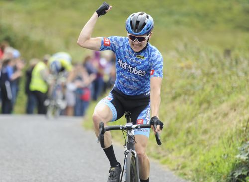 a09011732 15 July 2017  Conor Gallagher of Connacht Team in action during Stage 5 of  the Scott Junior Tour 2017 at Gallows Hill