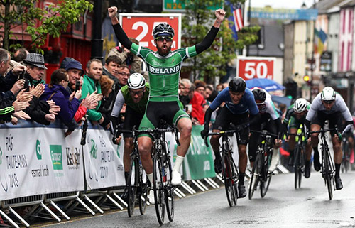 dd33572cd Robert-Jon McCarthy (Ireland National Team) wins stage 2 - Photo courtesy  ©INPHO Bryan Keane
